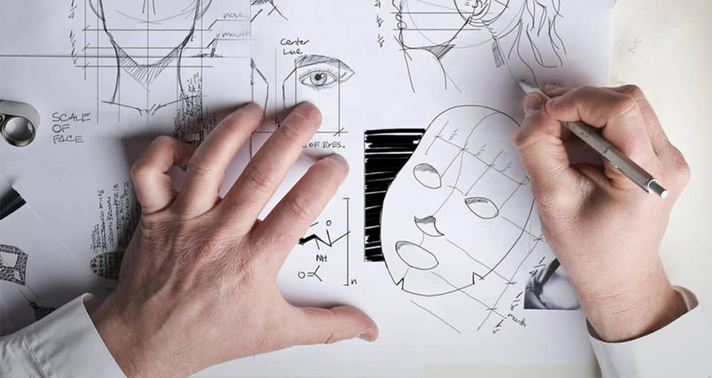 แผ่นมาส์กหน้า Platinum crystal fiber mask