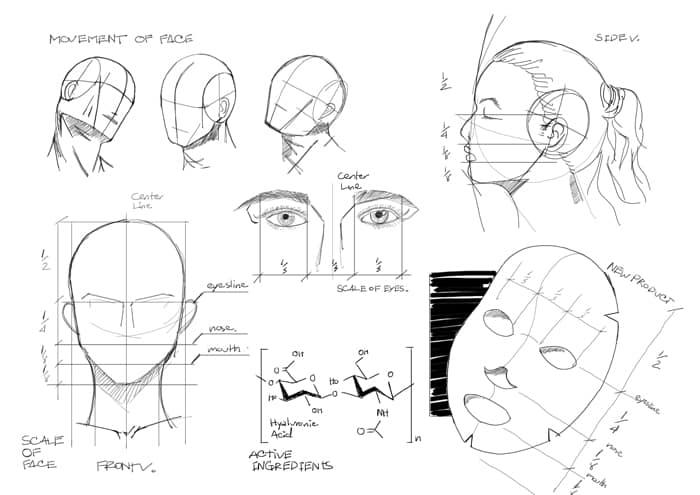 Mask-design-sketch