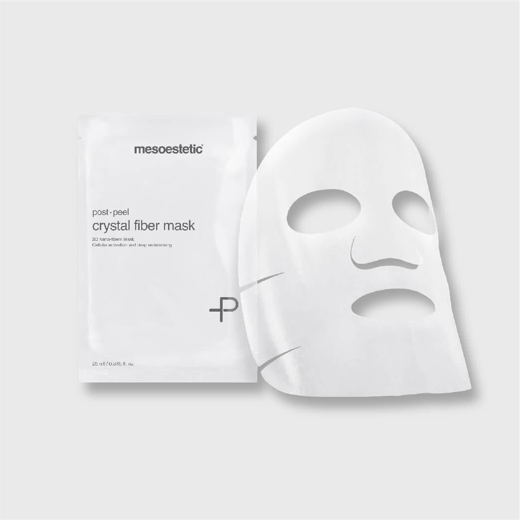 แผ่นมาส์กหน้า post peel crystal fiber mask