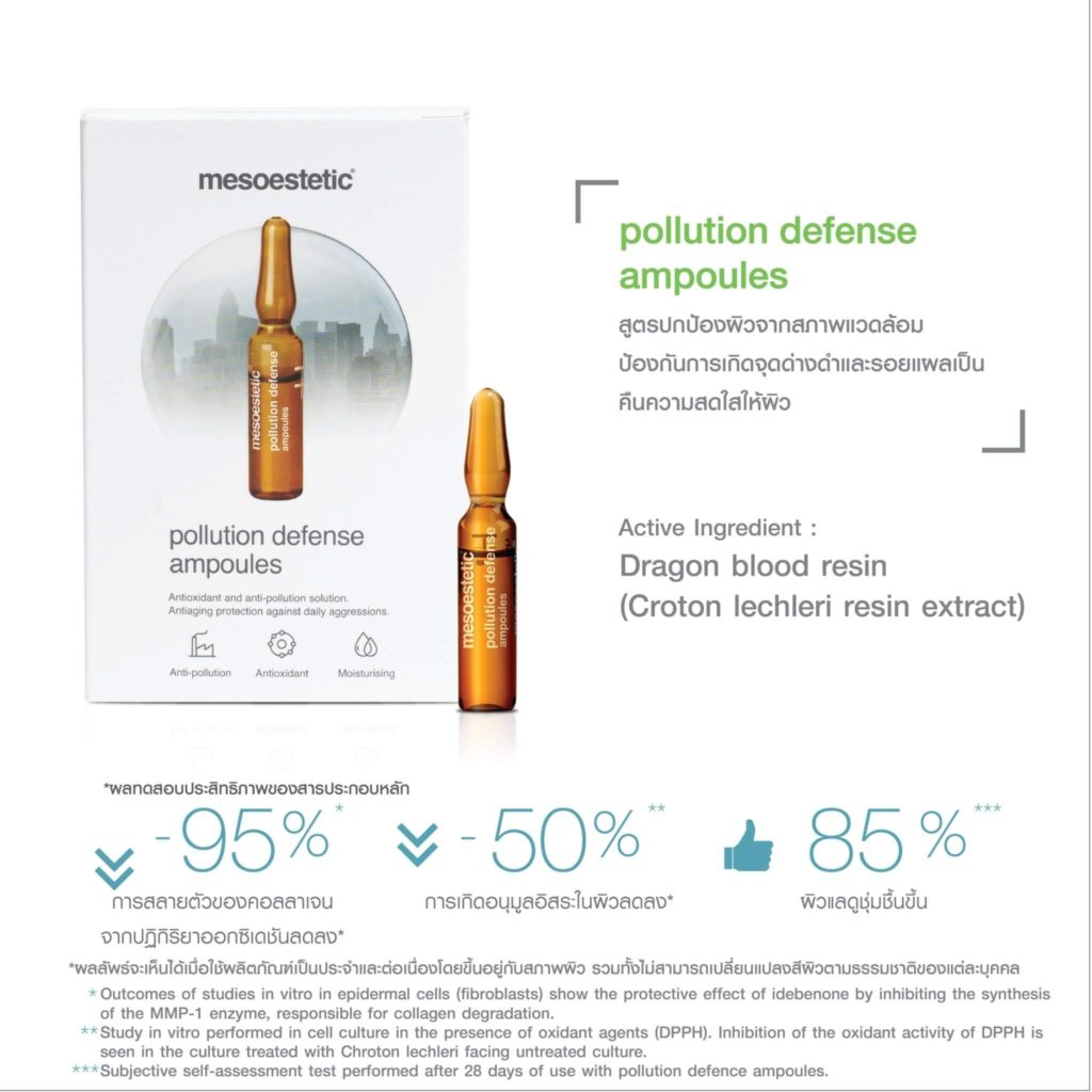 pollution defense ampoules